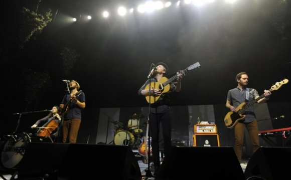 The Lumineers, above, are one