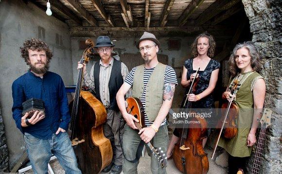 English folk band Telling the