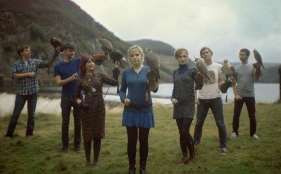 Seven piece Welsh indie pop