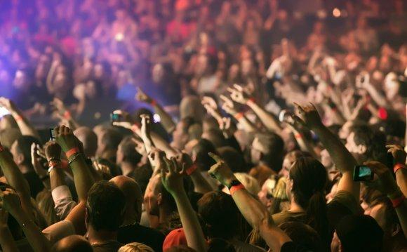 Indie rock music festival