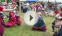 Belly dancing at the 2012 Fairie Festival Glen Rock, Pa